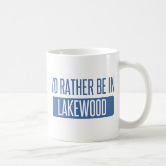 I'd rather be in Lakewood OH Coffee Mug