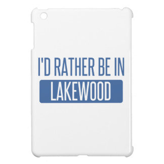 I'd rather be in Lakewood OH iPad Mini Cover