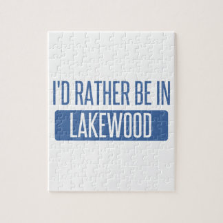 I'd rather be in Lakewood OH Jigsaw Puzzle