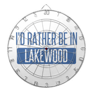 I'd rather be in Lakewood WA Dartboard