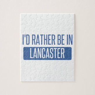 I'd rather be in Lancaster OH Jigsaw Puzzle