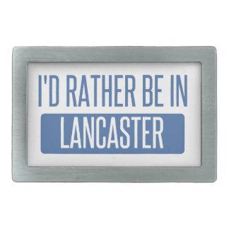 I'd rather be in Lancaster OH Rectangular Belt Buckle