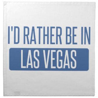 I'd rather be in Las Vegas Napkin