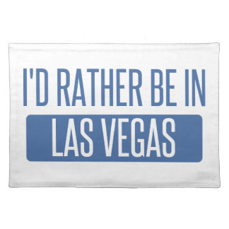 I'd rather be in Las Vegas Placemat