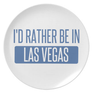 I'd rather be in Las Vegas Plate