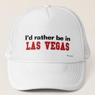 I'd Rather Be In Las Vegas Trucker Hat