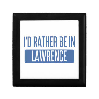 I'd rather be in Lawrence IN Gift Box