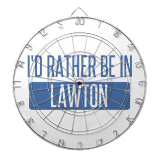 I'd rather be in Lawton Dartboard