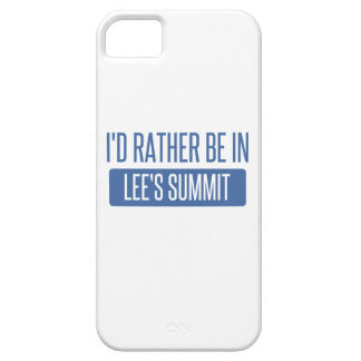 I'd rather be in Lee's Summit Case For The iPhone 5