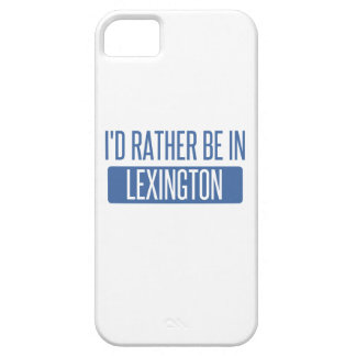 I'd rather be in Lexington Case For The iPhone 5