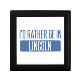 I'd rather be in Lincoln NE Gift Box