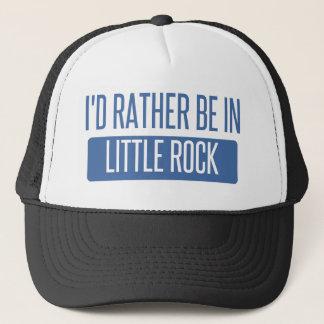 I'd rather be in Little Rock Trucker Hat