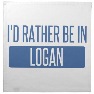 I'd rather be in Logan Napkin