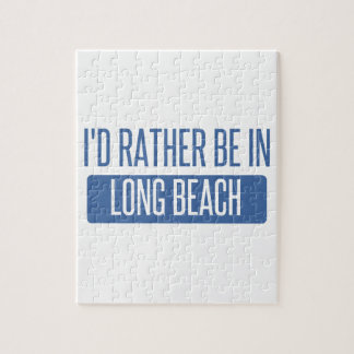 I'd rather be in Long Beach CA Jigsaw Puzzle