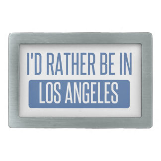 I'd rather be in Los Angeles Belt Buckle