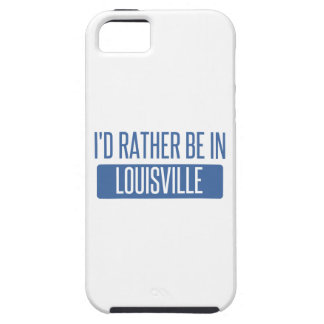 I'd rather be in Louisville iPhone 5 Covers