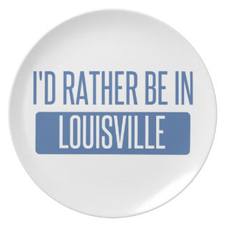 I'd rather be in Louisville Plate