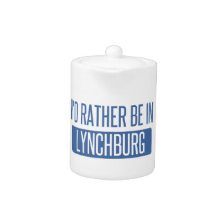 I'd rather be in Lynchburg