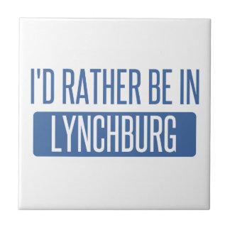 I'd rather be in Lynchburg Ceramic Tile