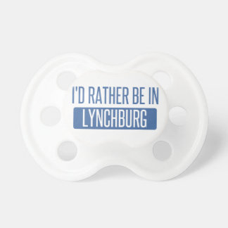 I'd rather be in Lynchburg Dummy
