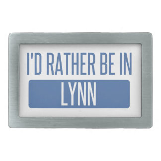 I'd rather be in Lynn Belt Buckles