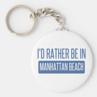 I'd rather be in Manhattan Beach Key Ring