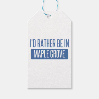 I'd rather be in Maple Grove Gift Tags
