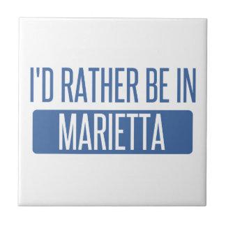 I'd rather be in Marietta Ceramic Tile