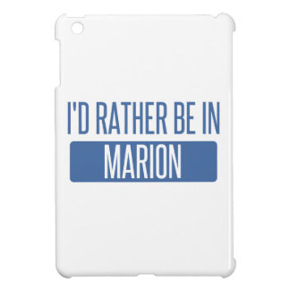 I'd rather be in Marion Case For The iPad Mini