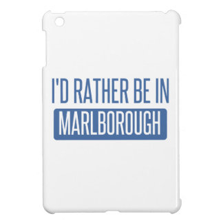 I'd rather be in Marlborough iPad Mini Covers