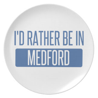 I'd rather be in Medford OR Plate