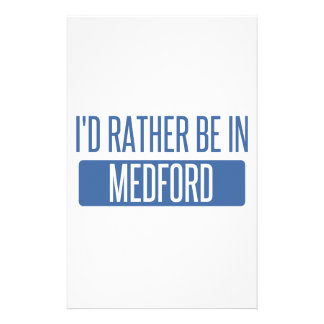 I'd rather be in Medford OR Stationery