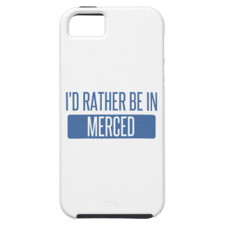 I'd rather be in Merced Tough iPhone 5 Case