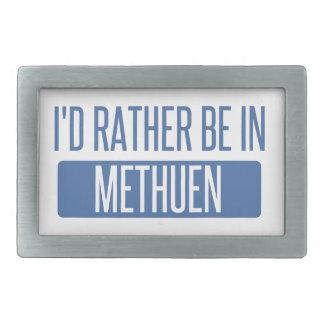 I'd rather be in Methuen Belt Buckles