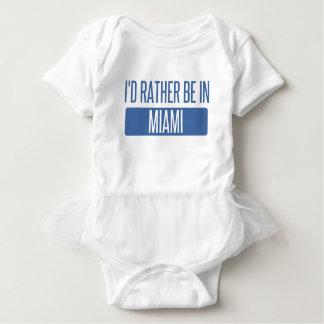 I'd rather be in Miami Baby Bodysuit