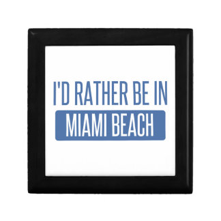 I'd rather be in Miami Beach Gift Box