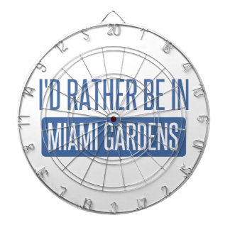 I'd rather be in Miami Gardens Dartboard