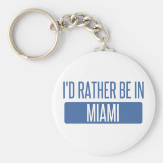 I'd rather be in Miami Key Ring