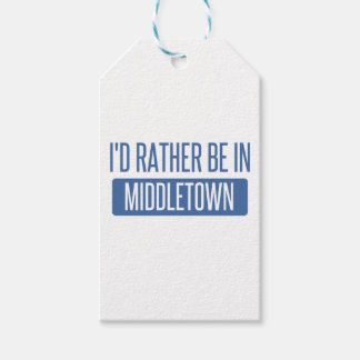 I'd rather be in Middletown OH Gift Tags