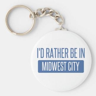 I'd rather be in Midwest City Key Ring