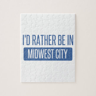 I'd rather be in Midwest City Puzzle