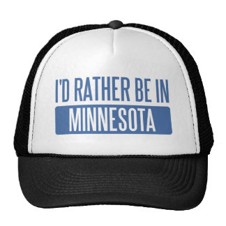 I'd rather be in Minnesota Hat