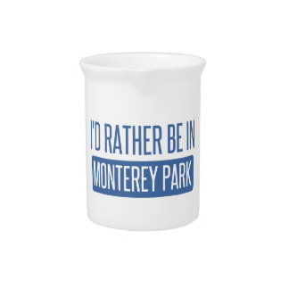 I'd rather be in Monterey Park Pitcher