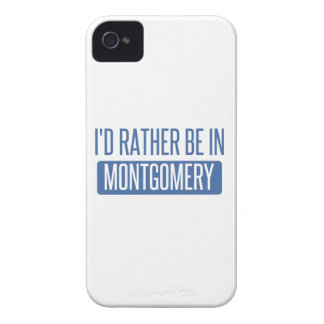 I'd rather be in Montgomery iPhone 4 Covers