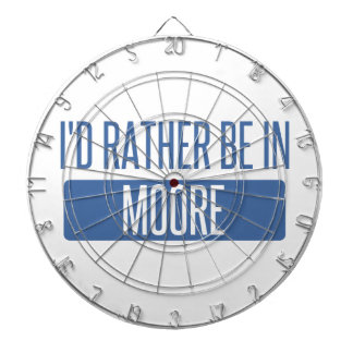 I'd rather be in Moore Dartboard