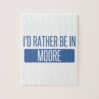 I'd rather be in Moore Puzzle