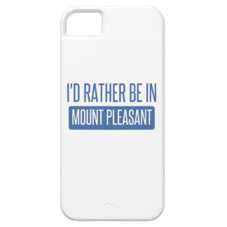 I'd rather be in Mount Pleasant iPhone 5 Cases