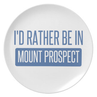I'd rather be in Mount Prospect Plate