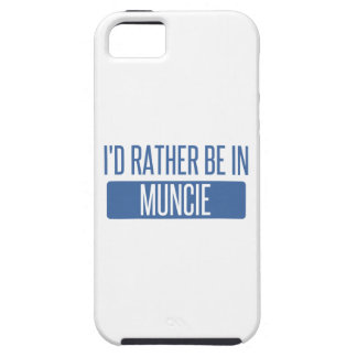 I'd rather be in Muncie iPhone 5 Cover