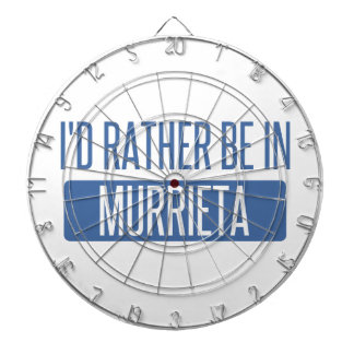 I'd rather be in Murrieta Dartboard